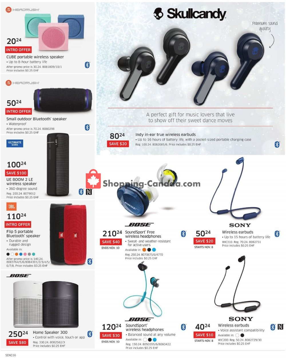 Flyer The Source Canada - from Thursday November 7, 2019 to Wednesday November 13, 2019