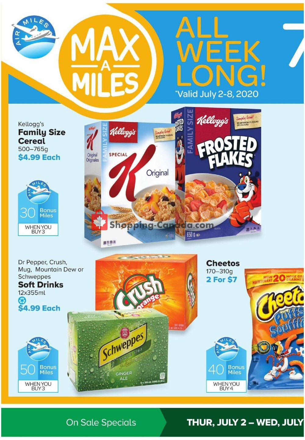 Flyer Thrifty Foods Canada - from Thursday July 2, 2020 to Wednesday July 8, 2020