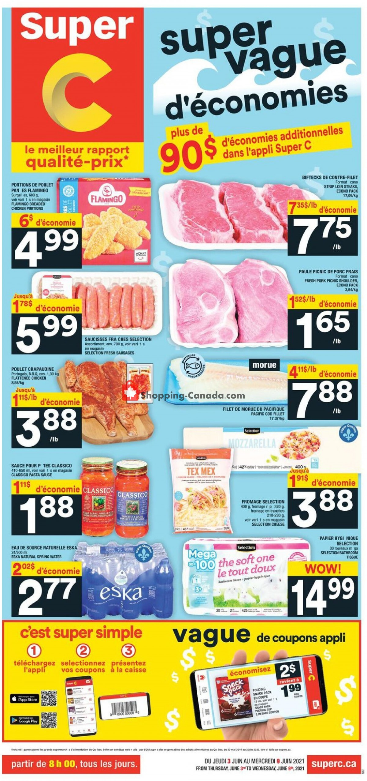 Flyer Thrifty Foods Canada - from Thursday June 3, 2021 to Wednesday June 9, 2021