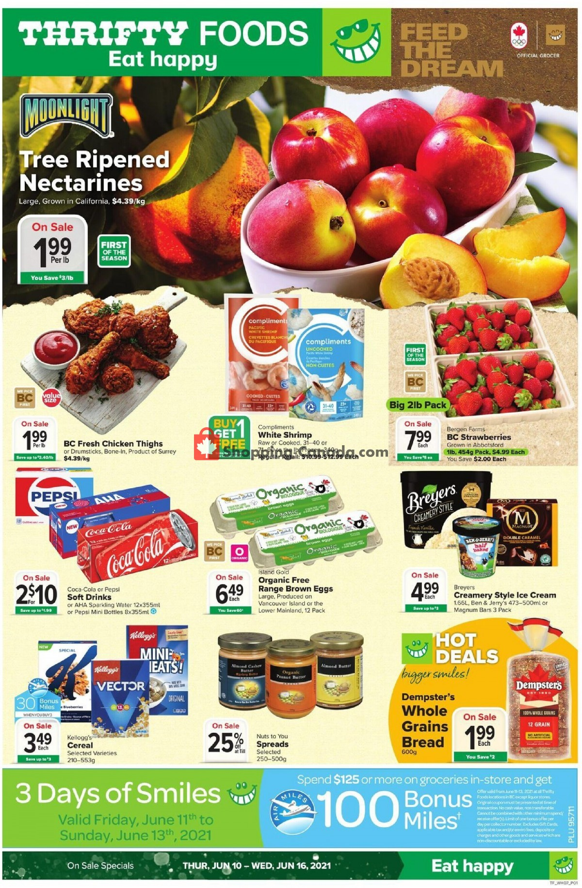 Flyer Thrifty Foods Canada - from Thursday June 10, 2021 to Wednesday June 16, 2021