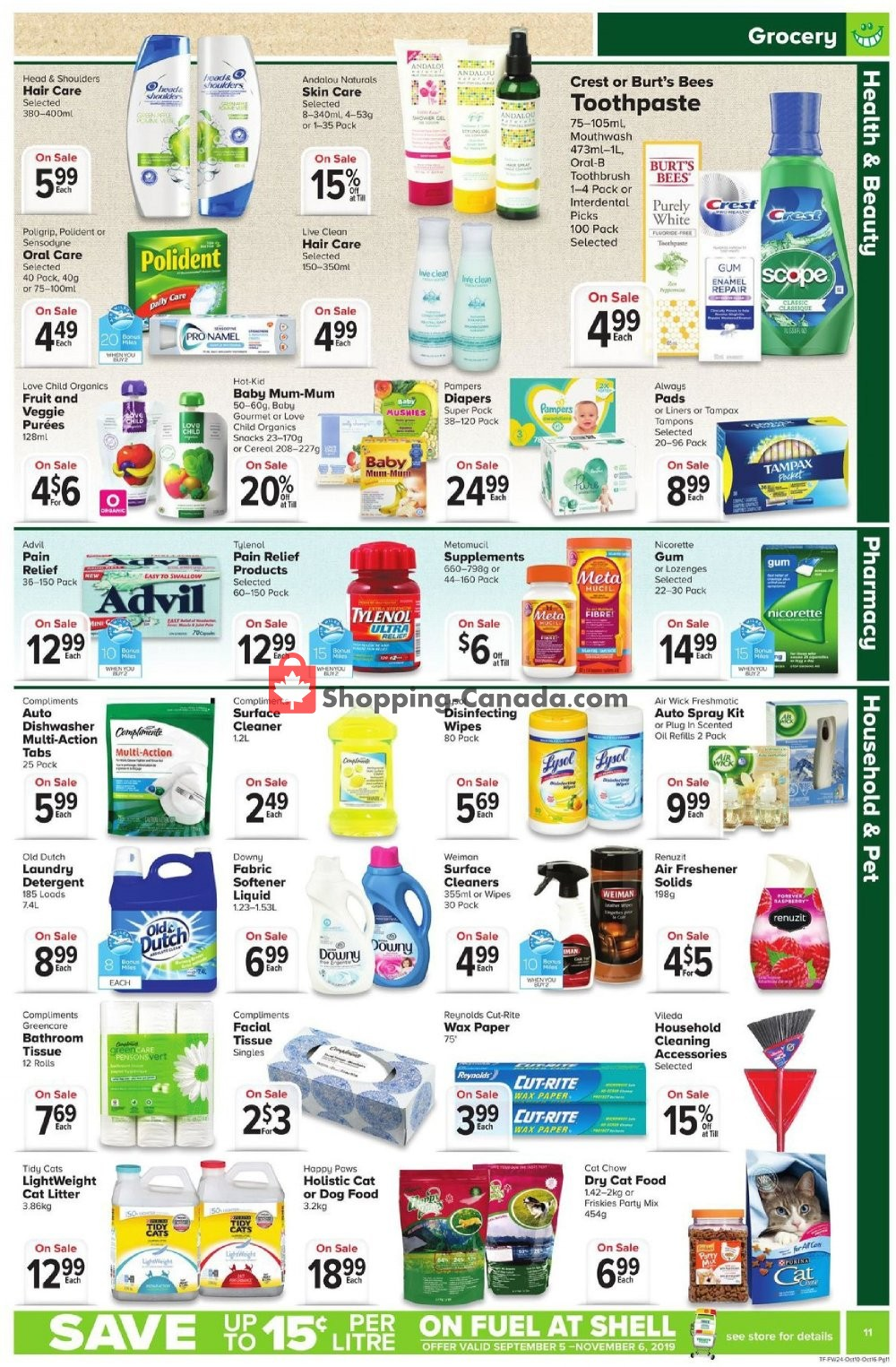 Flyer Thrifty Foods Canada - from Thursday October 10, 2019 to Wednesday October 16, 2019