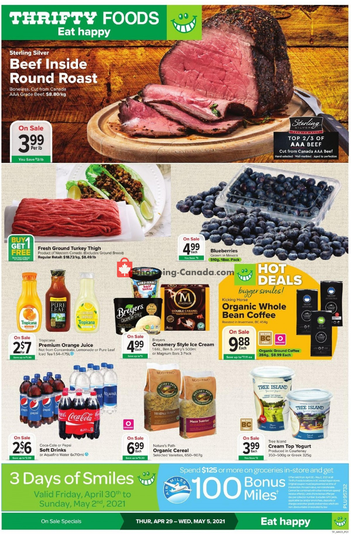 Flyer Thrifty Foods Canada - from Thursday April 29, 2021 to Wednesday May 5, 2021