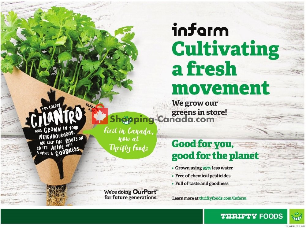 Flyer Thrifty Foods Canada - from Thursday January 21, 2021 to Wednesday January 27, 2021