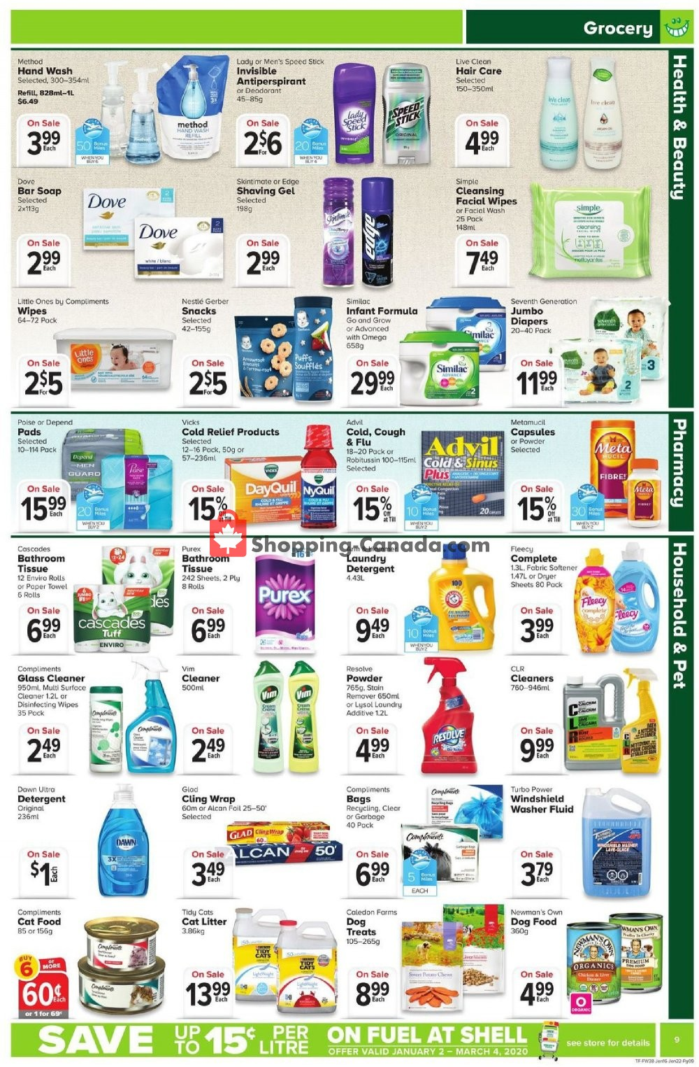 Flyer Thrifty Foods Canada - from Thursday January 16, 2020 to Wednesday January 22, 2020