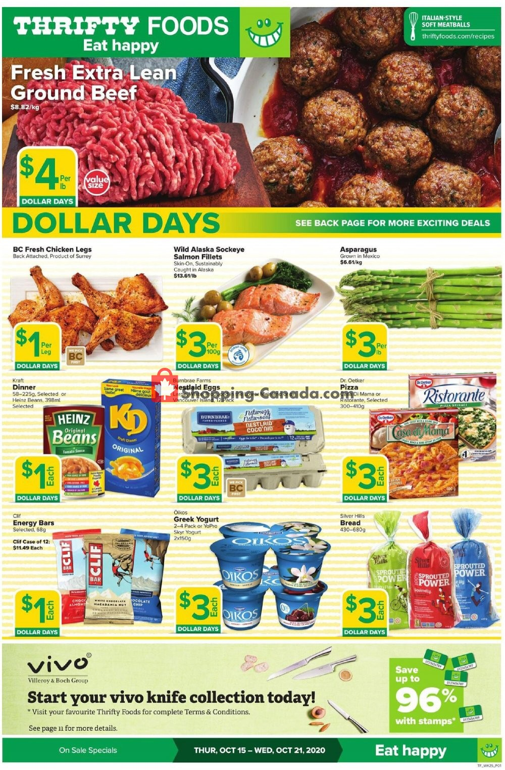 Flyer Thrifty Foods Canada - from Thursday October 15, 2020 to Wednesday October 21, 2020