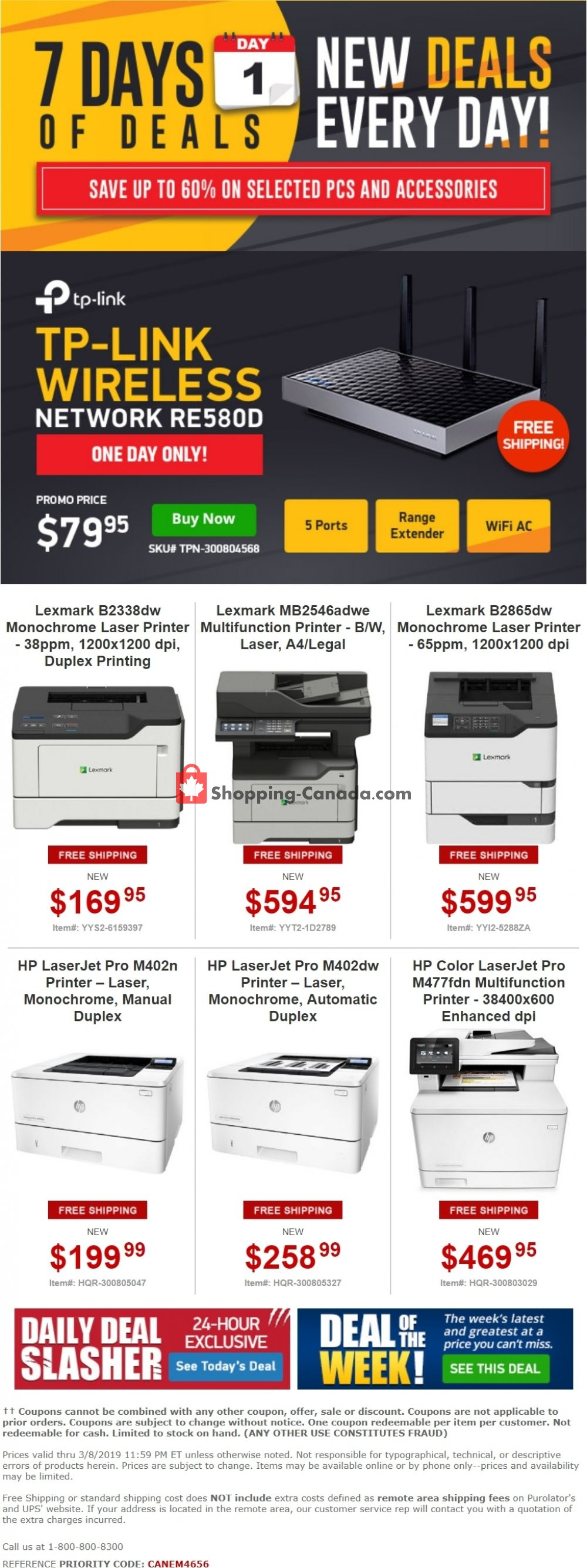 Flyer Tiger Direct Canada - from Friday March 8, 2019 to Friday March 8, 2019