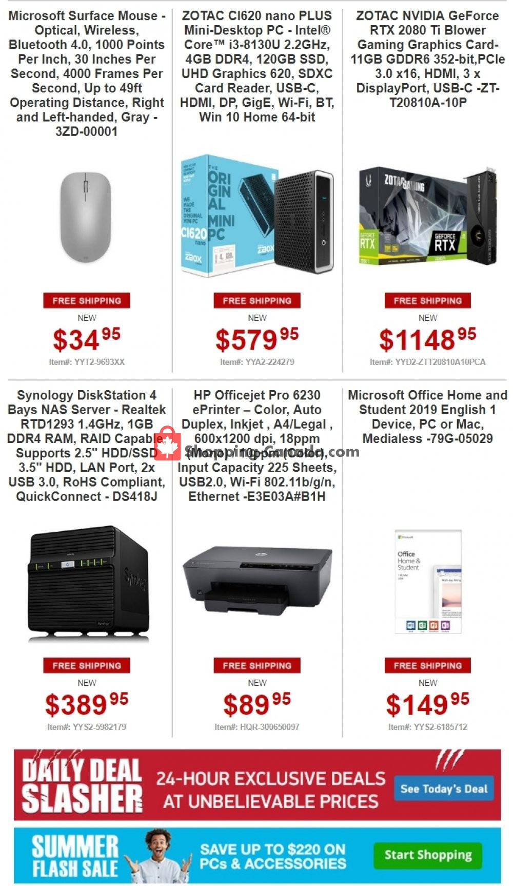 Flyer Tiger Direct Canada - from Monday July 8, 2019 to Sunday July 14, 2019
