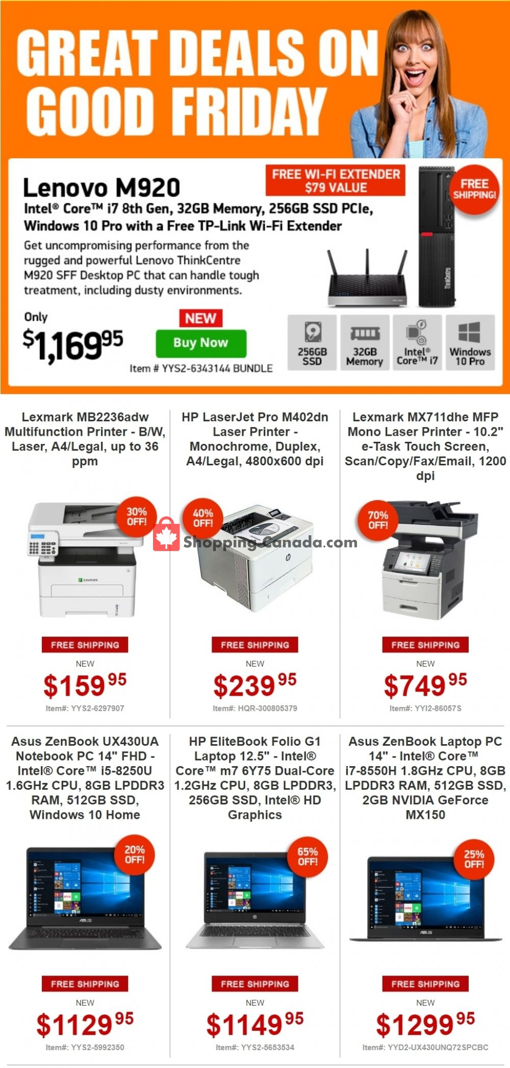 Flyer Tiger Direct Canada - from Friday April 19, 2019 to Sunday April 21, 2019