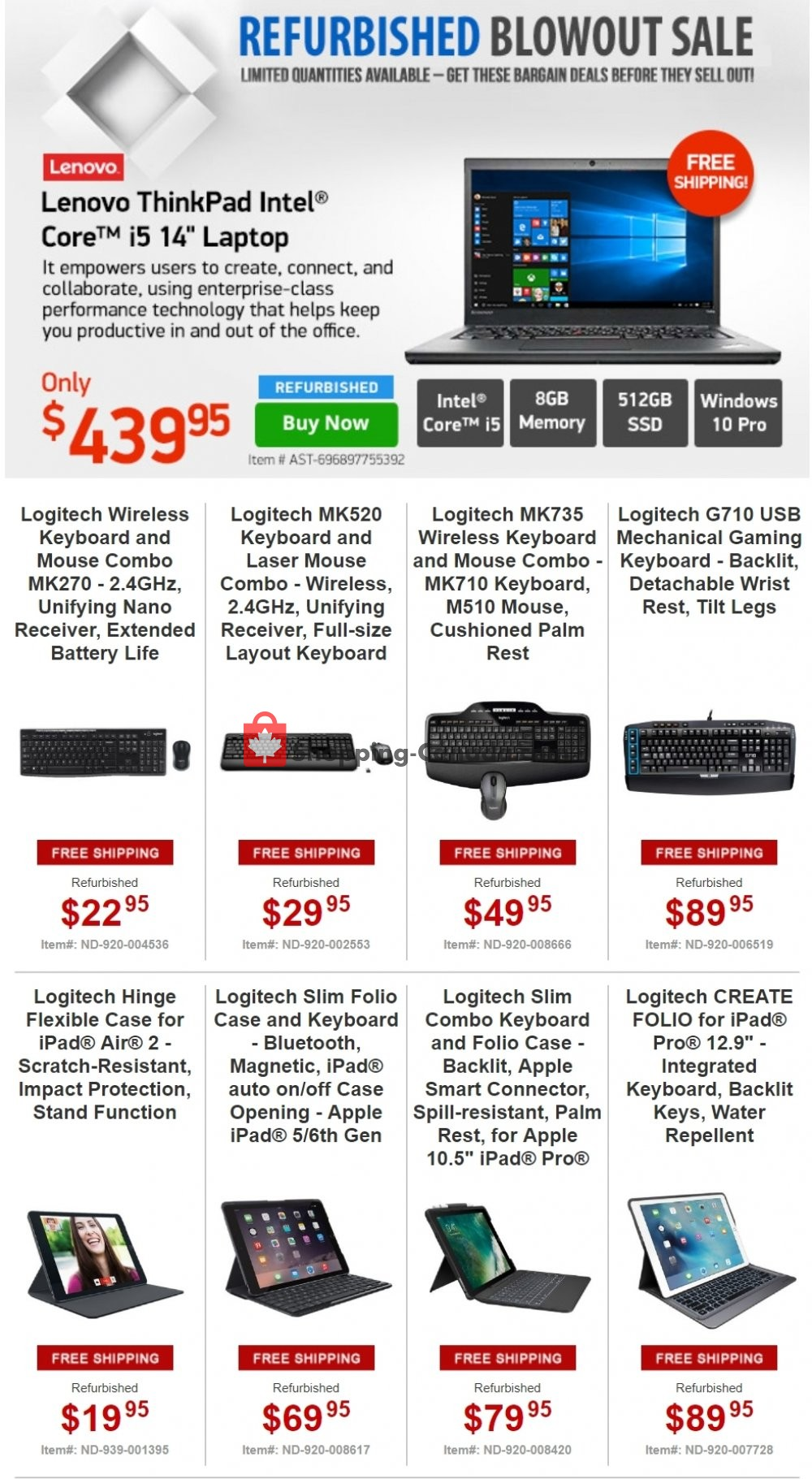 Flyer Tiger Direct Canada - from Wednesday April 17, 2019 to Thursday April 18, 2019