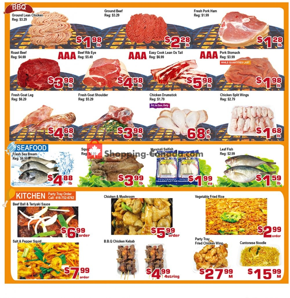 Flyer Top Food Canada - from Friday October 4, 2019 to Thursday October 10, 2019
