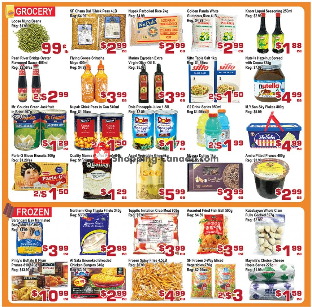 Flyer Top Food Canada - from Friday September 6, 2019 to Thursday September 12, 2019