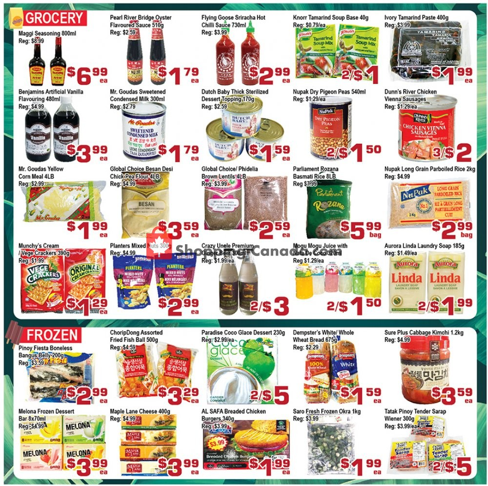 Flyer Top Food Canada - from Friday August 9, 2019 to Thursday August 15, 2019