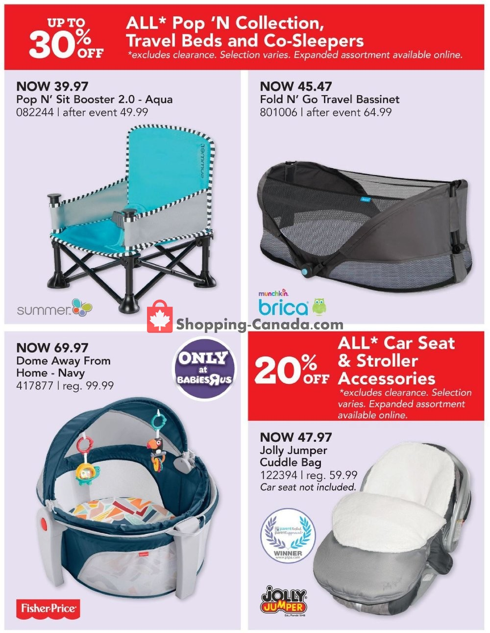 Flyer Toys R Us / Babies R Us Canada - from Thursday September 5, 2019 to Wednesday September 18, 2019
