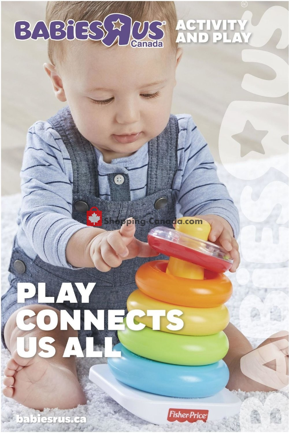 Flyer Toys R Us / Babies R Us Canada - from Thursday August 30, 2018 to Monday December 31, 2018