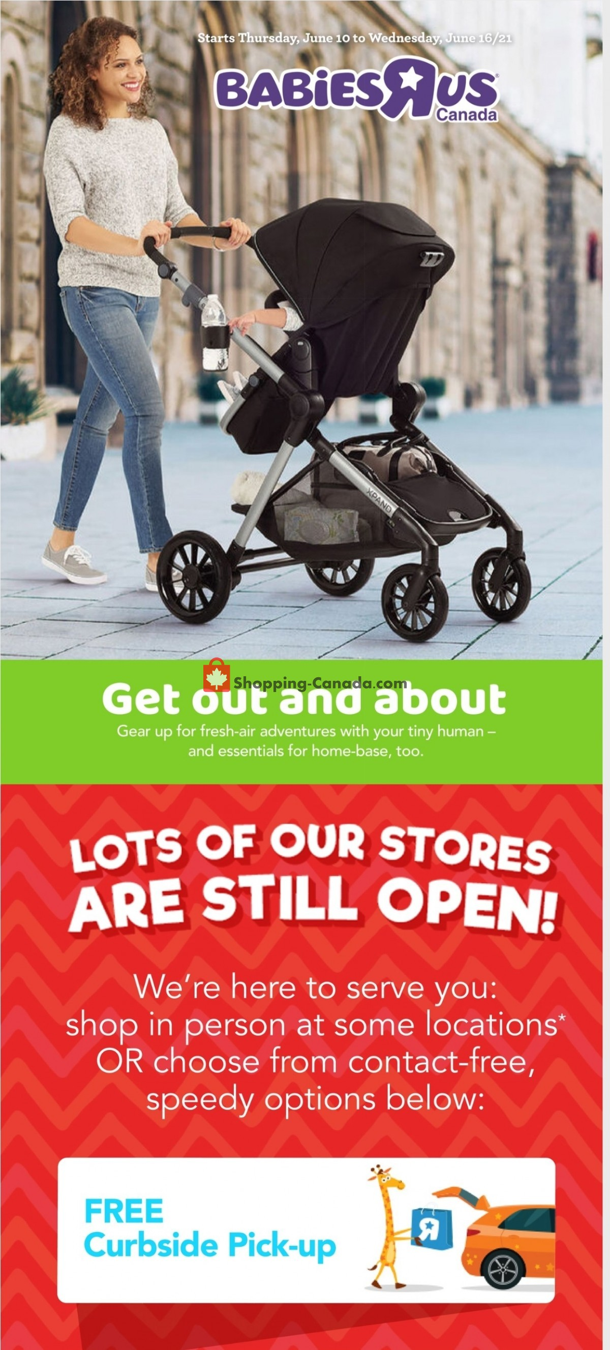 Flyer Toys R Us / Babies R Us Canada - from Thursday June 10, 2021 to Wednesday June 16, 2021