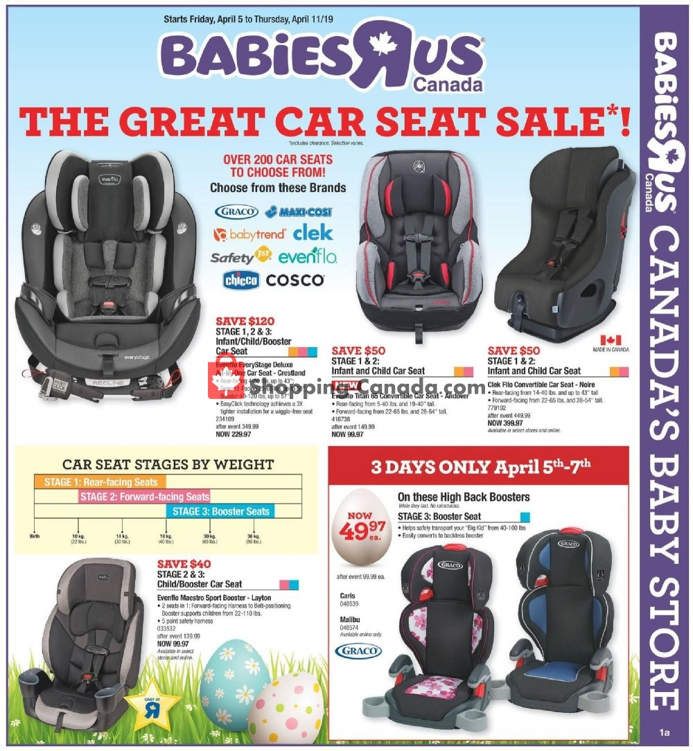 Flyer And Weekly Ads Toys R Us Babies R Us Canada Babies The