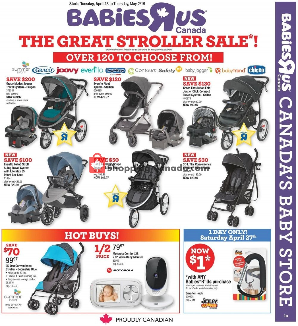 toys r us babies r us babies the great stroller sale from april 23 to may 2 2019 page 1