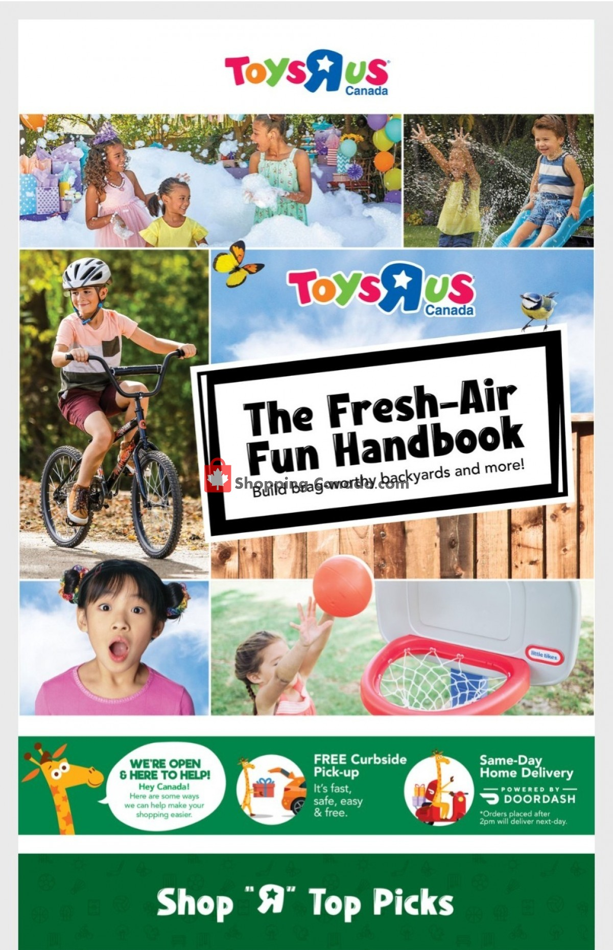 Flyer Toys R Us / Babies R Us Canada - from Thursday July 15, 2021 to Wednesday July 21, 2021