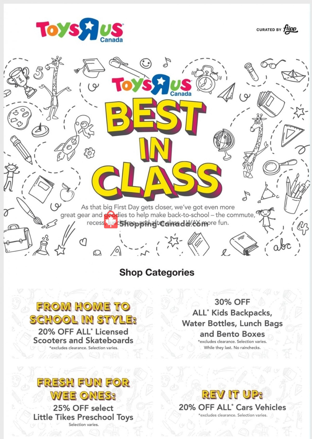 Flyer Toys R Us / Babies R Us Canada - from Thursday September 2, 2021 to Wednesday September 8, 2021