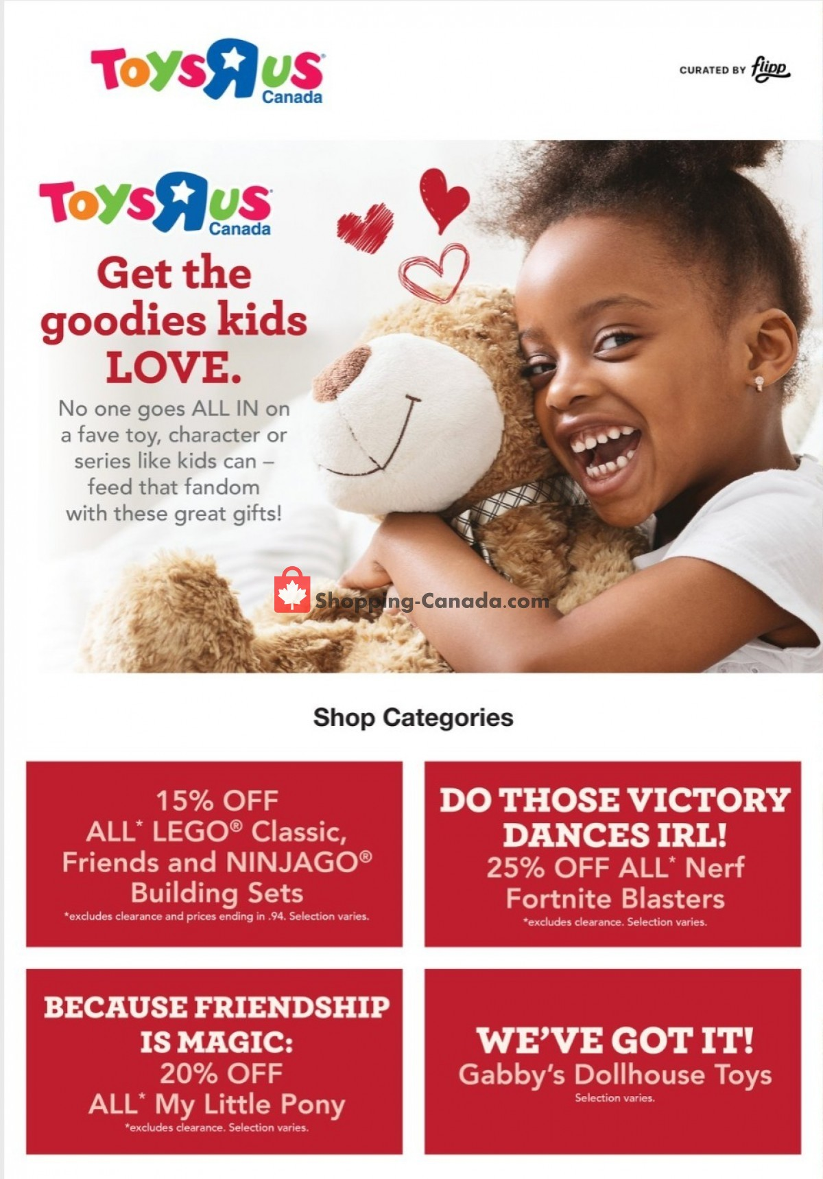 Flyer Toys R Us / Babies R Us Canada - from Thursday October 7, 2021 to Wednesday October 13, 2021
