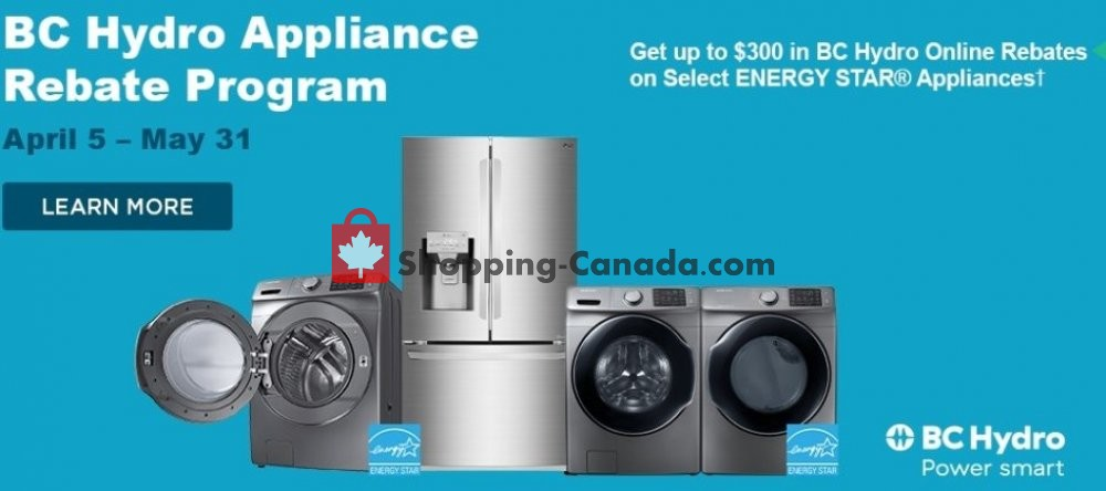 Flyer Trail Appliances Canada - from Friday April 5, 2019 to Friday May 31, 2019