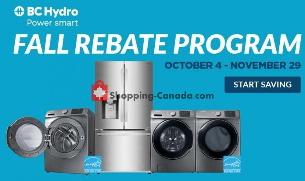 Flyer Trail Appliances Canada - from Friday October 4, 2019 to Friday November 29, 2019