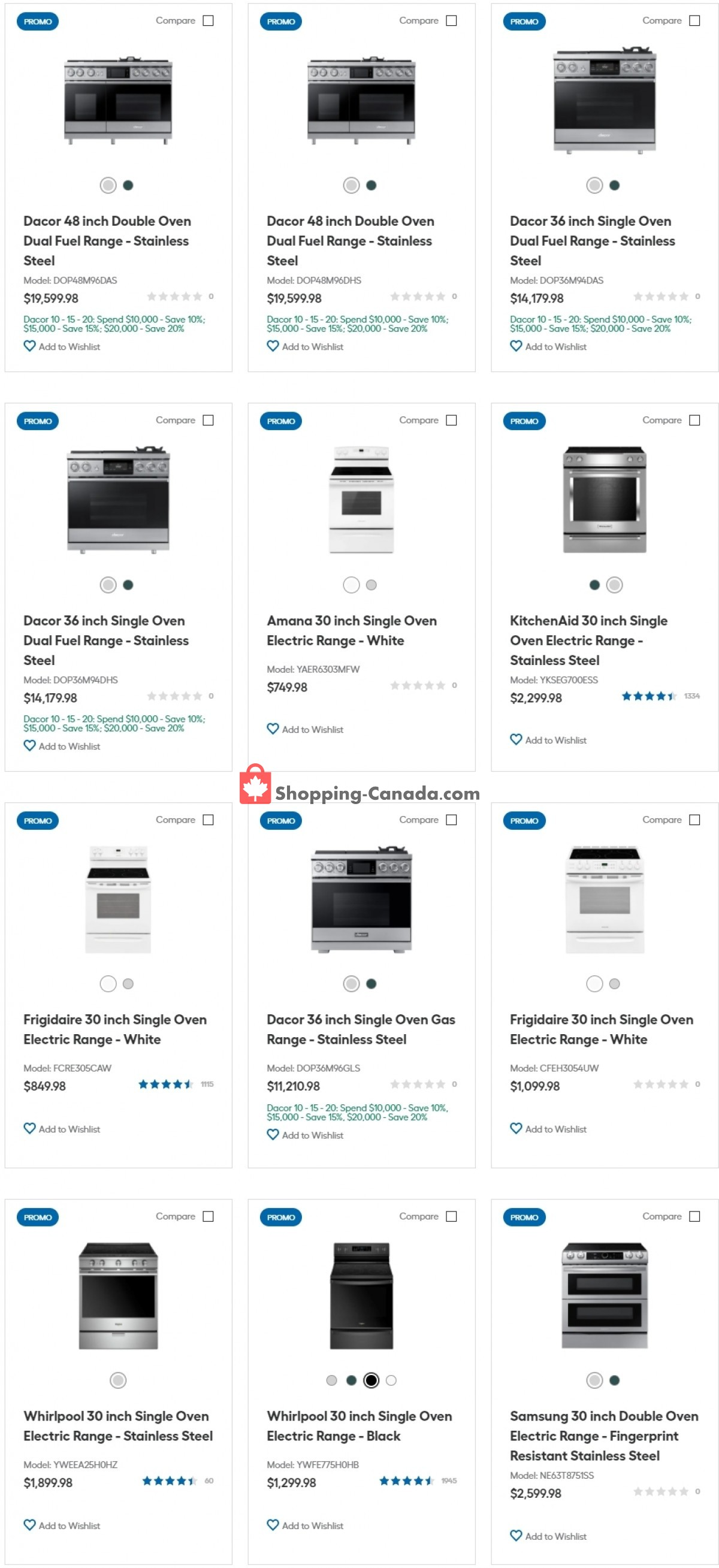 Flyer Trail Appliances Canada - from Tuesday July 20, 2021 to Monday July 26, 2021