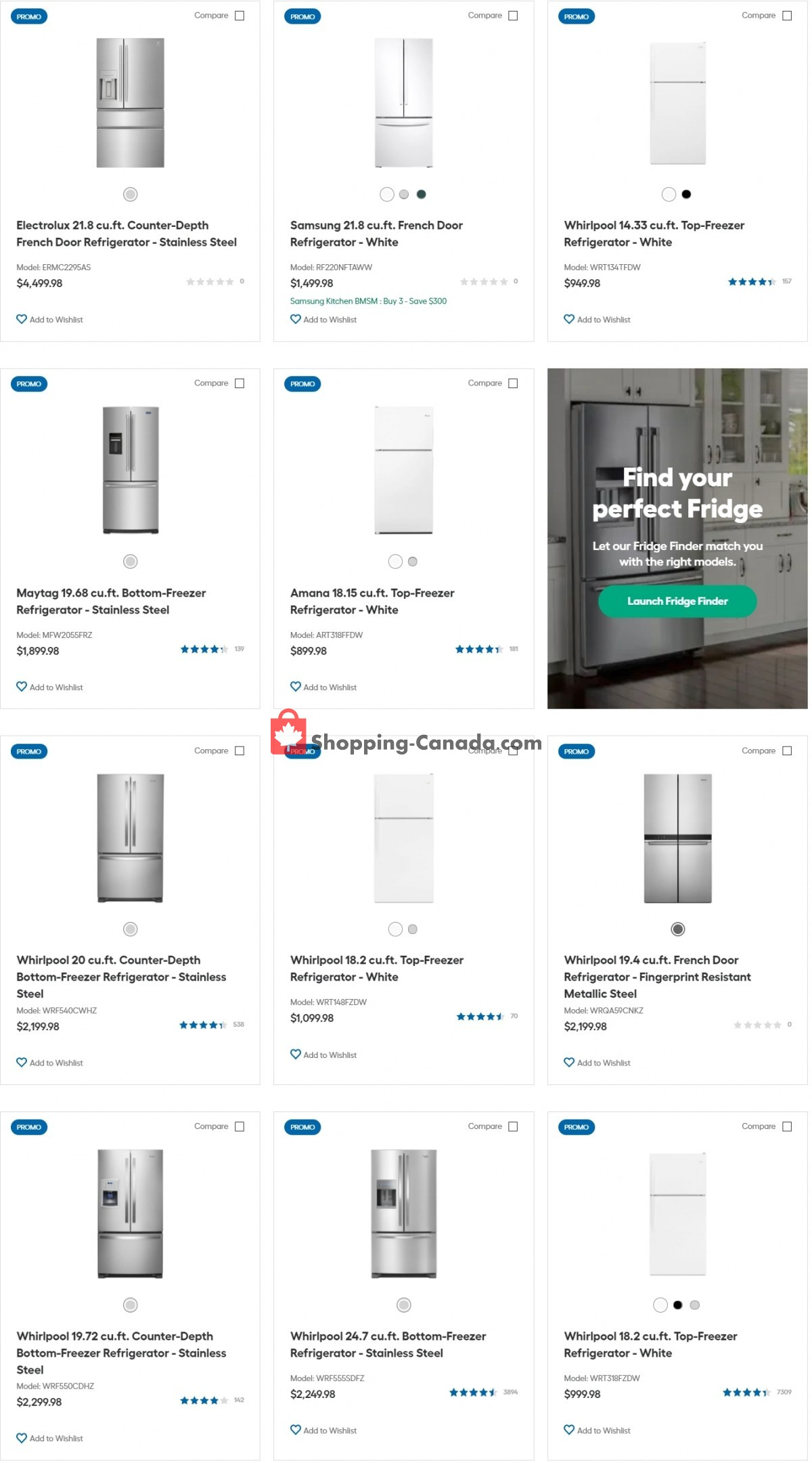 Flyer Trail Appliances Canada - from Tuesday July 13, 2021 to Monday July 19, 2021