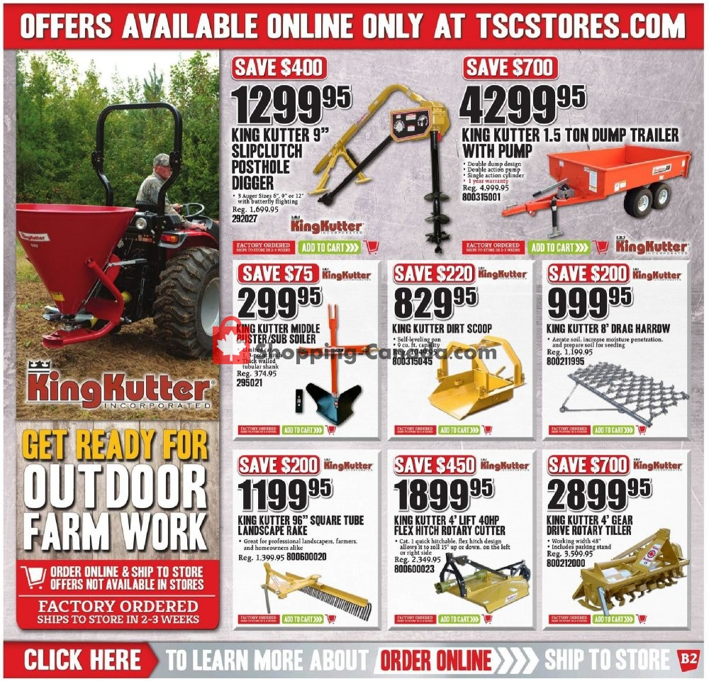 Flyer TSC Stores Canada - from Friday July 12, 2019 to Thursday July 18, 2019