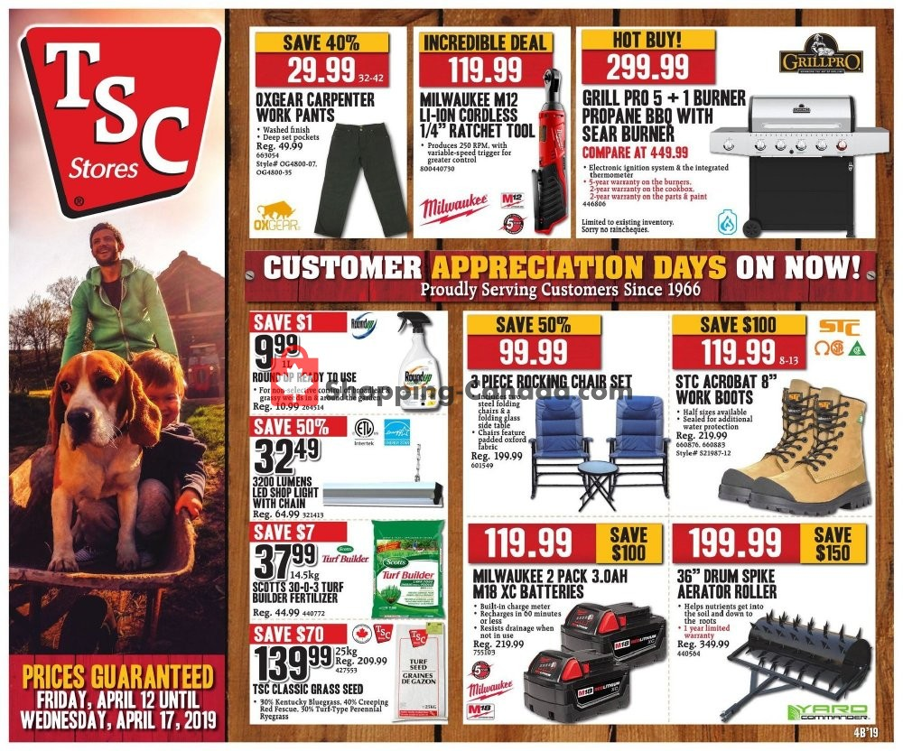 Flyer and weekly ads: TSC Stores Canada - (Hot deal) - from