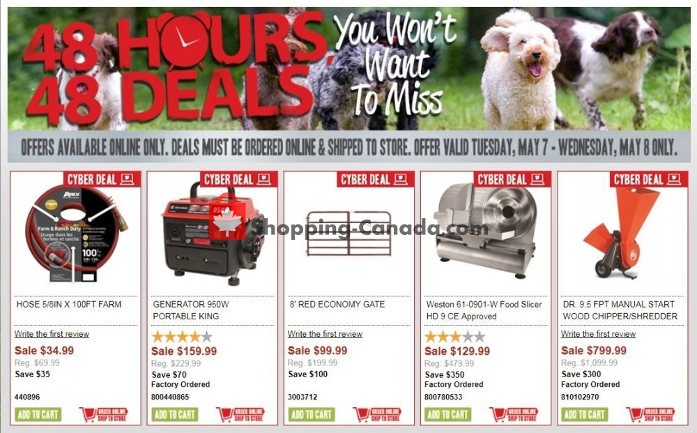 Flyer TSC Stores Canada - from Tuesday May 7, 2019 to Wednesday May 8, 2019