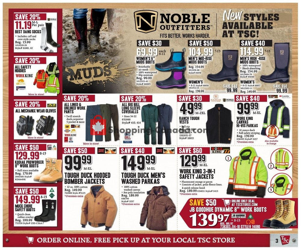 Flyer TSC Stores Canada - from Friday November 8, 2019 to Thursday November 14, 2019