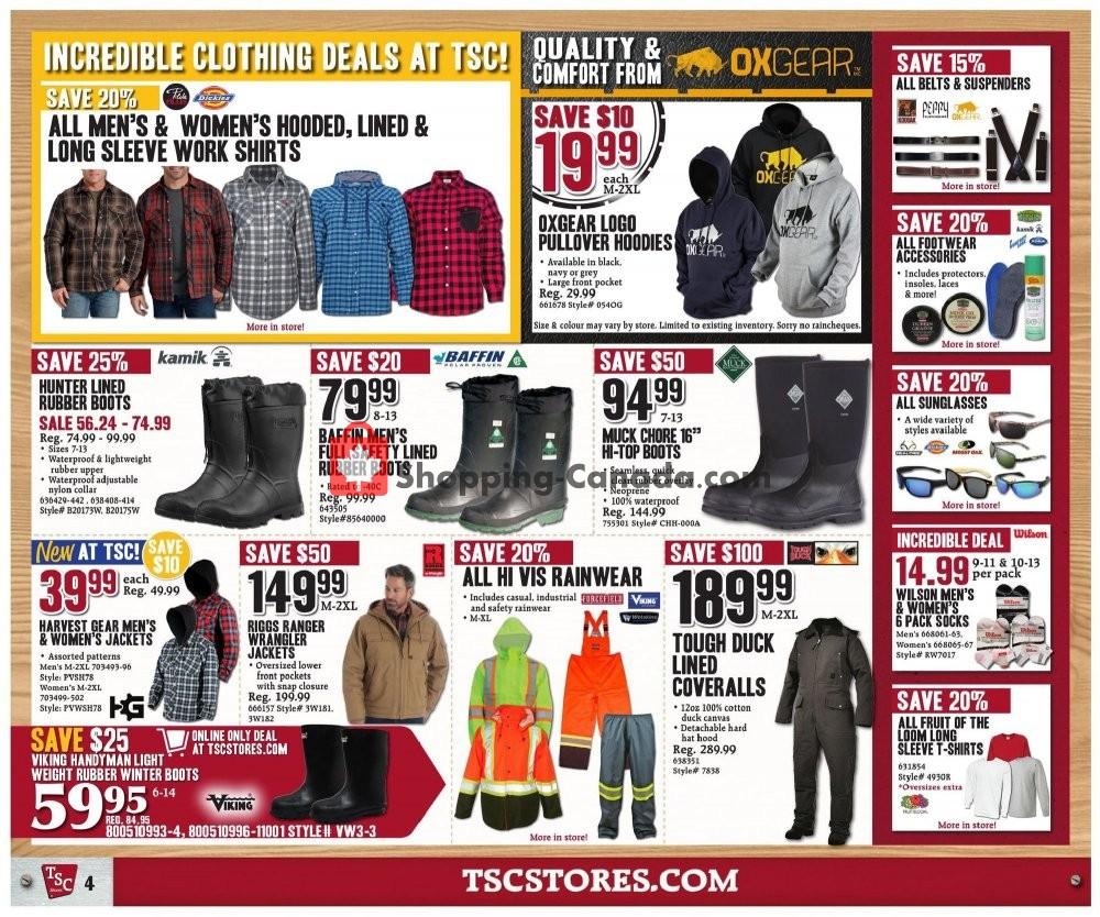 Flyer TSC Stores Canada - from Friday November 8, 2019 to Thursday November 14, 2019