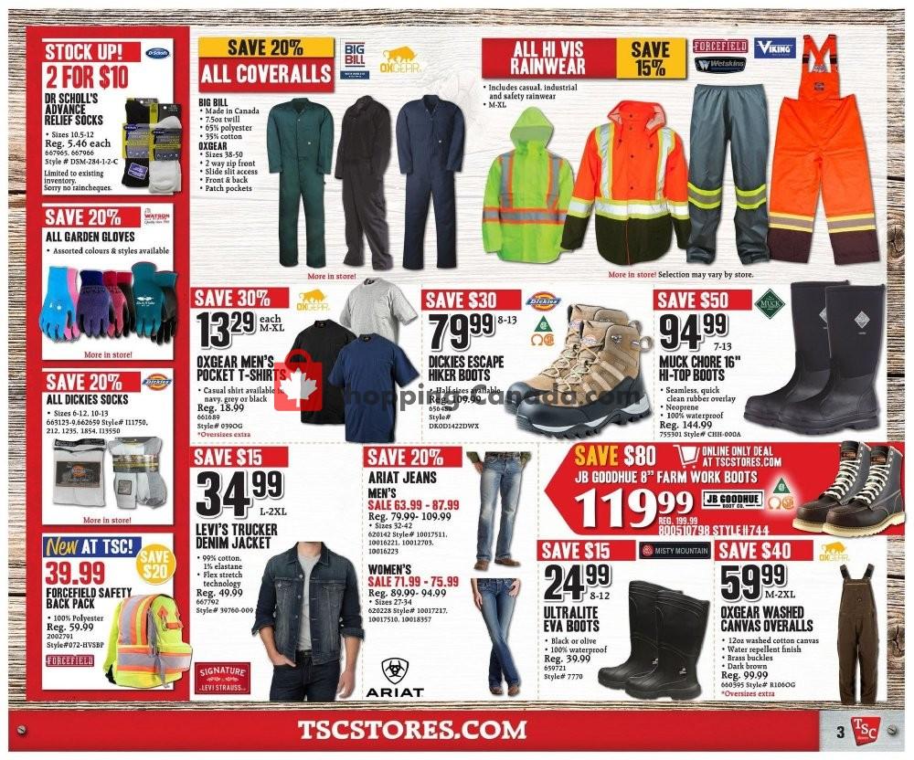 Flyer TSC Stores Canada - from Friday September 6, 2019 to Thursday September 12, 2019
