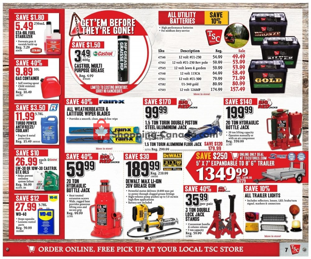 Flyer TSC Stores Canada - from Friday September 6, 2019 to Thursday September 12, 2019