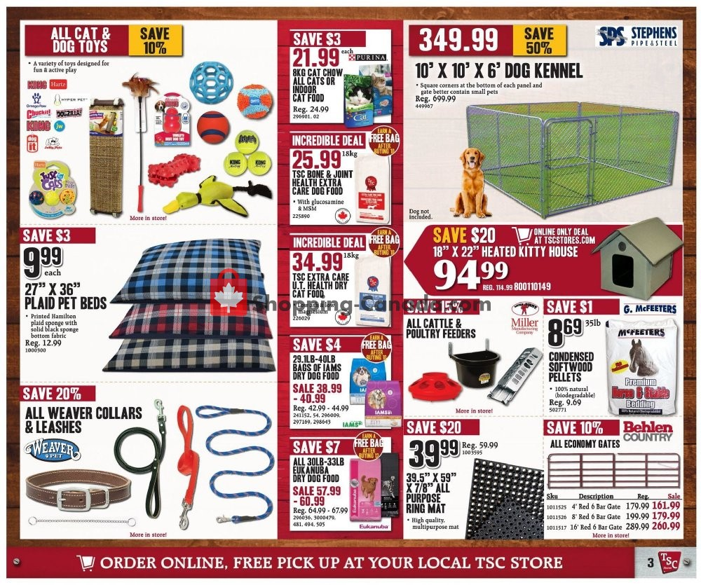 Flyer TSC Stores Canada - from Friday January 10, 2020 to Thursday January 16, 2020
