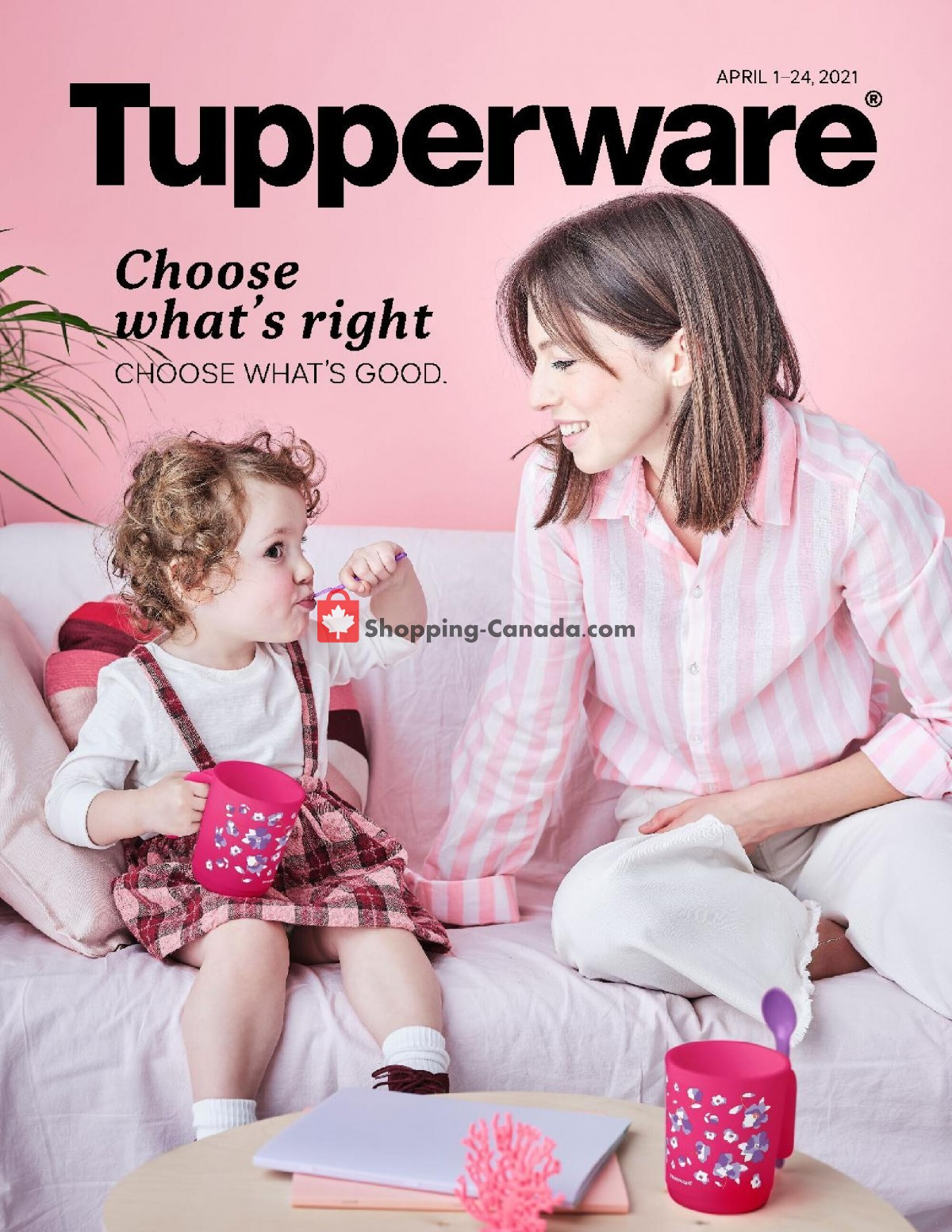 Flyer Tupperware  Canada - from Thursday April 1, 2021 to Saturday April 24, 2021