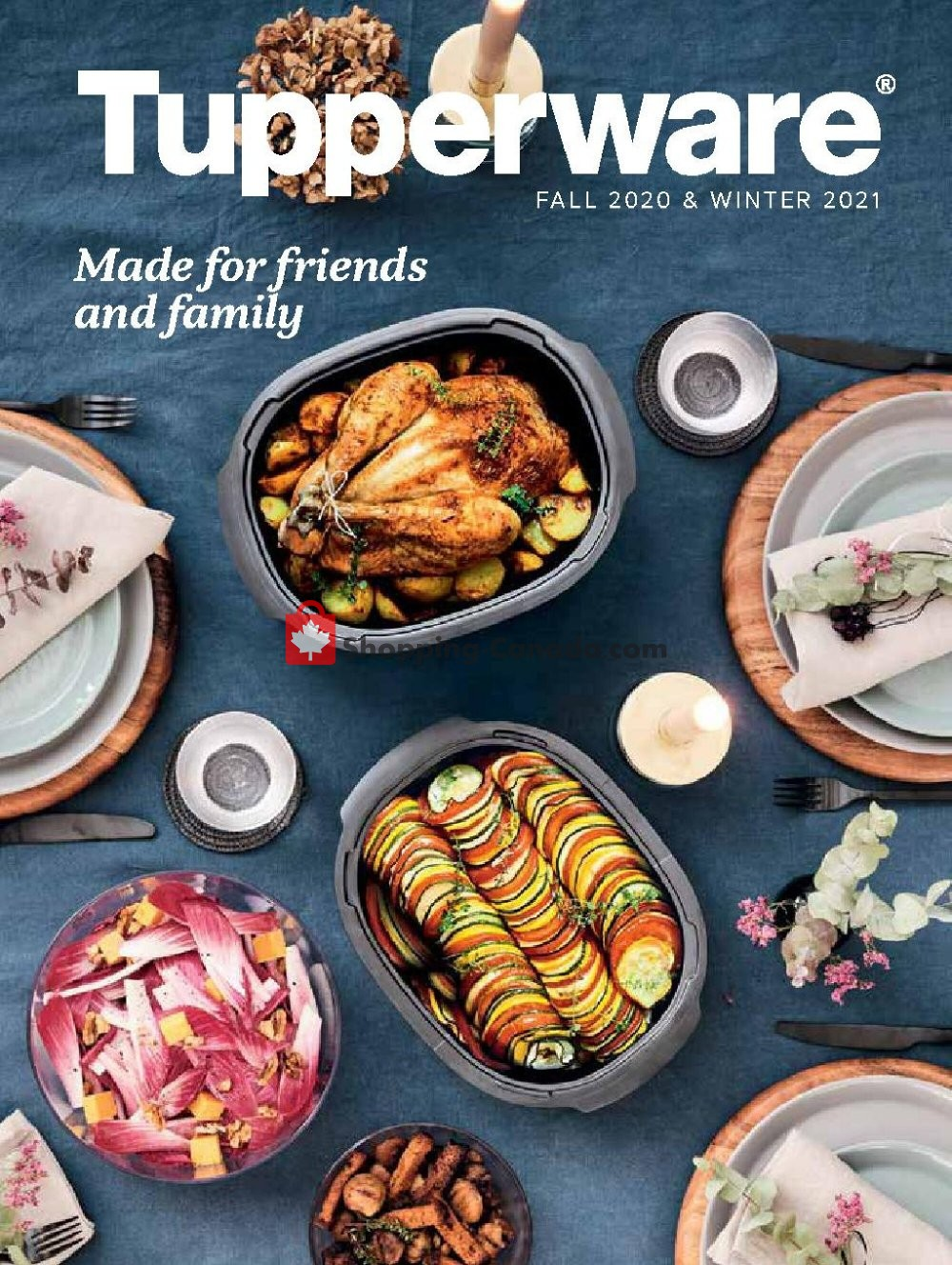 Flyer Tupperware  Canada - from Tuesday December 1, 2020 to Sunday January 31, 2021