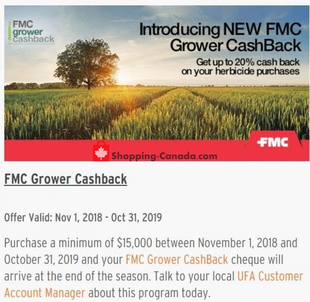 Flyer United Farmers Of Alberta Canada - from Thursday November 1, 2018 to Thursday October 31, 2019