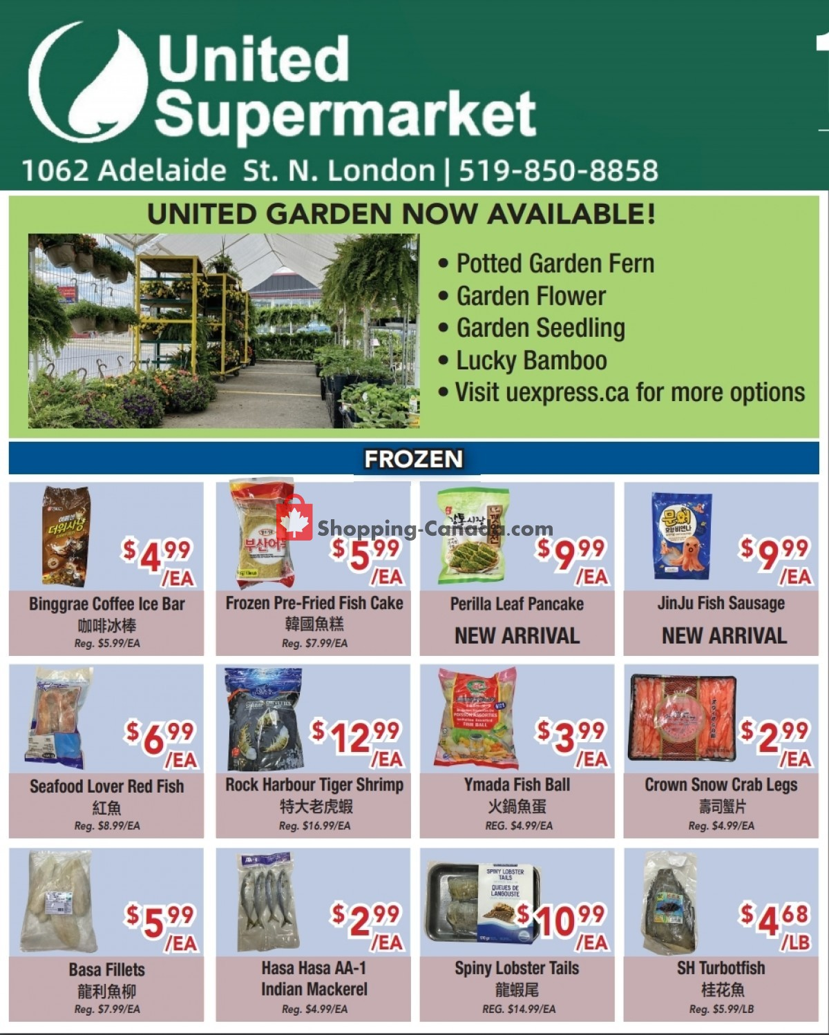 Flyer United Supermarket Canada - from Thursday June 3, 2021 to Wednesday June 9, 2021