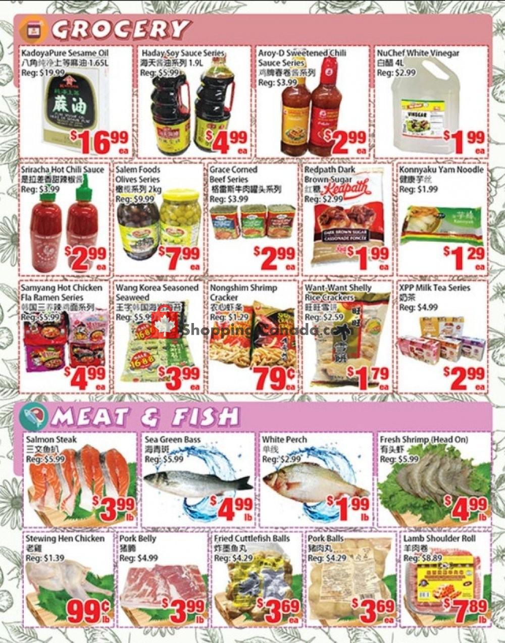 Flyer United Supermarket Canada - from Thursday November 7, 2019 to Wednesday November 13, 2019