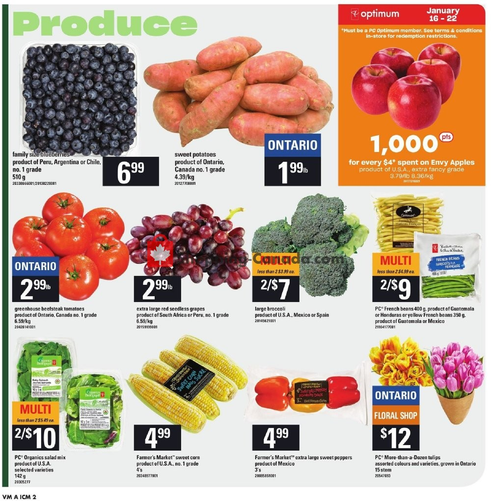 Flyer Valu-Mart Canada - from Thursday January 16, 2020 to Wednesday January 22, 2020