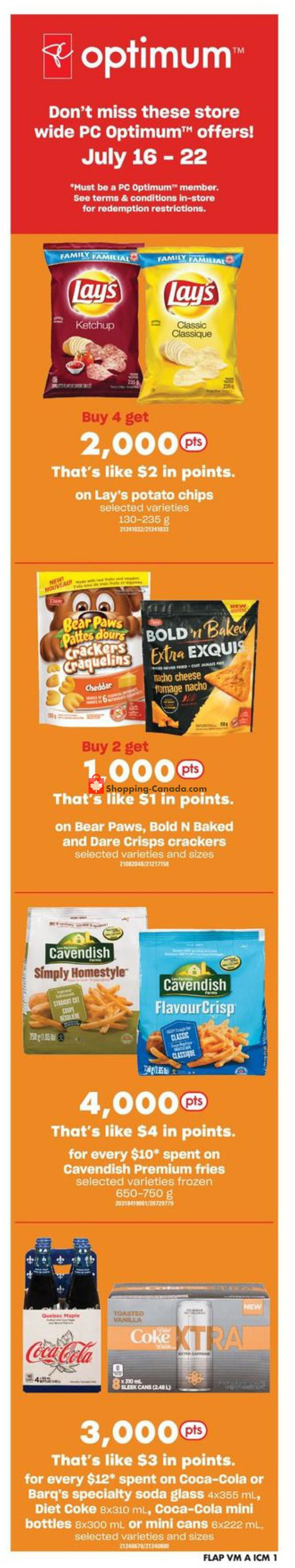 Flyer Valu Mart Canada - from Thursday July 16, 2020 to Wednesday July 22, 2020