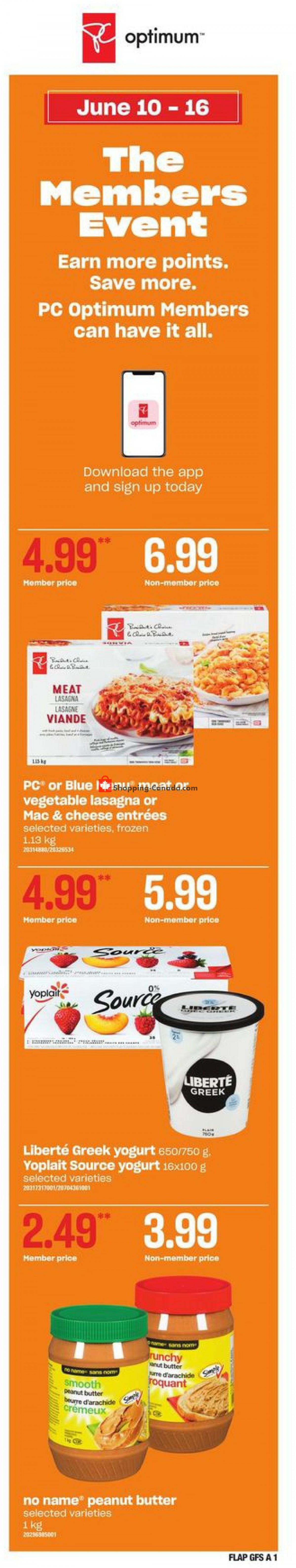 Flyer Valu Mart Canada - from Thursday June 10, 2021 to Wednesday June 16, 2021