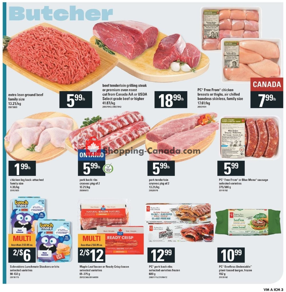 Flyer Valu-Mart Canada - from Thursday August 8, 2019 to Wednesday August 14, 2019