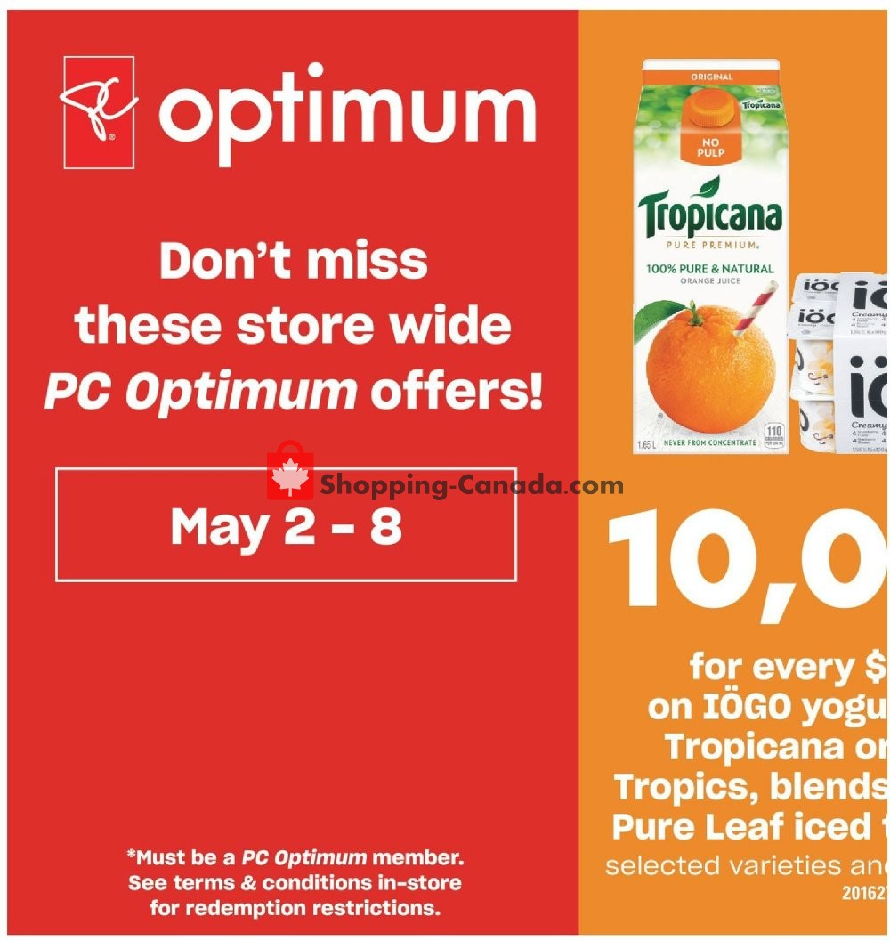 Flyer Valu Mart Canada - from Thursday May 2, 2019 to Wednesday May 8, 2019