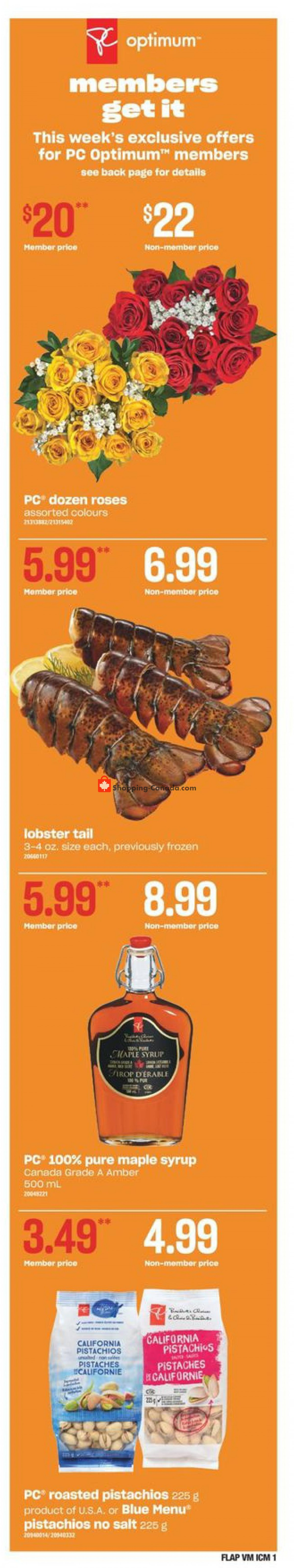 Flyer Valu Mart Canada - from Thursday May 6, 2021 to Wednesday May 12, 2021