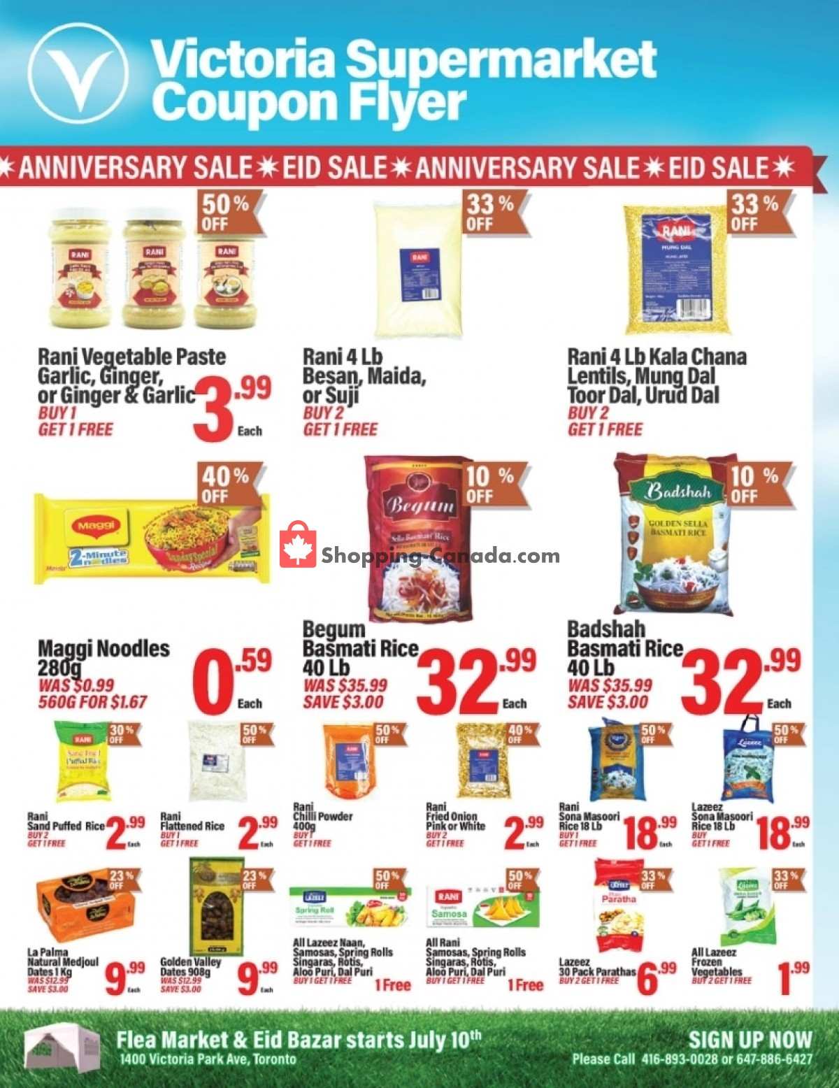 Flyer Victoria Supermarket Canada - from Friday July 9, 2021 to Wednesday July 21, 2021