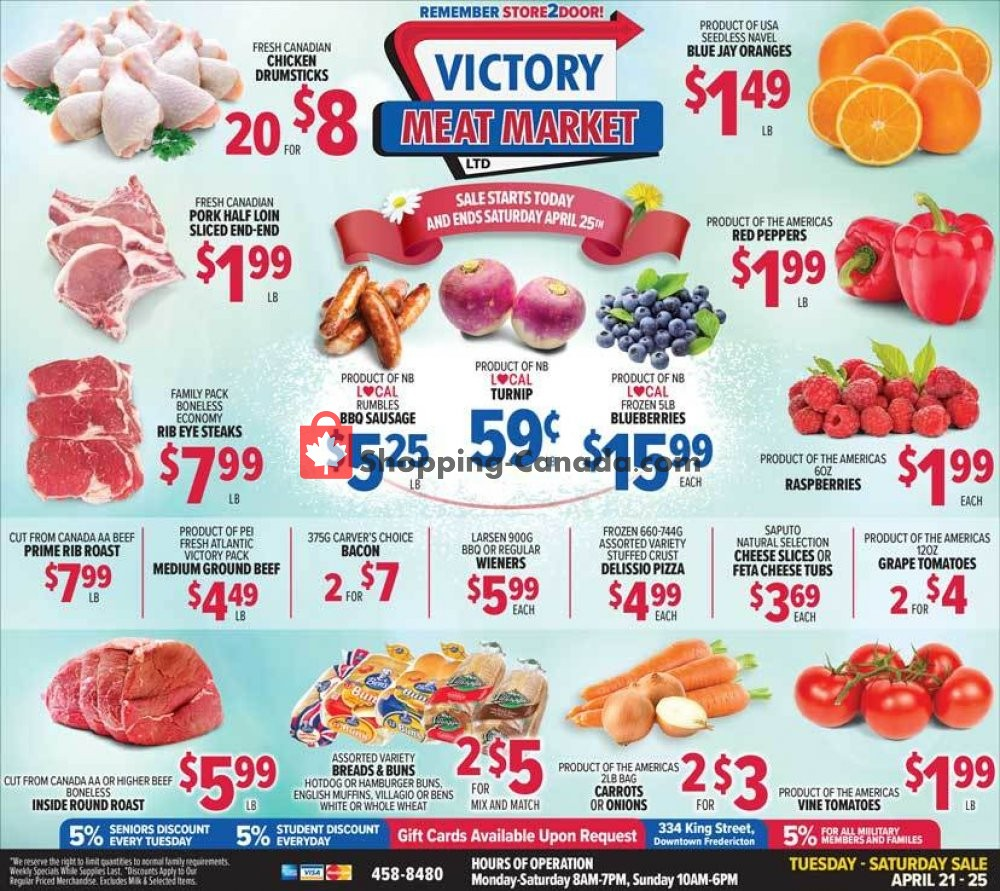 Flyer Victory Meat Market  Canada - from Tuesday April 21, 2020 to Saturday April 25, 2020