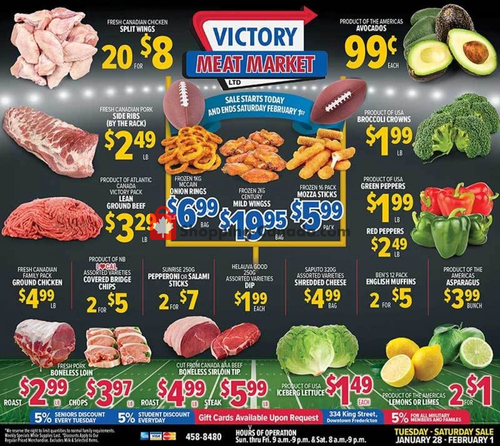Flyer Victory Meat Market  Canada - from Tuesday January 28, 2020 to Saturday February 1, 2020